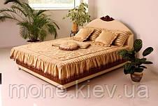 """Кровать """"Диана"""" двуспальная с мягким изголовьем и подъемным механизмом , фото 2"""