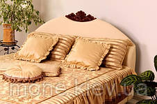 """Кровать """"Диана"""" двуспальная с мягким изголовьем и подъемным механизмом , фото 3"""
