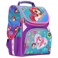 Рюкзак (ранец) школьный каркасный Class 9804 Lovely Pony 34*27*14см
