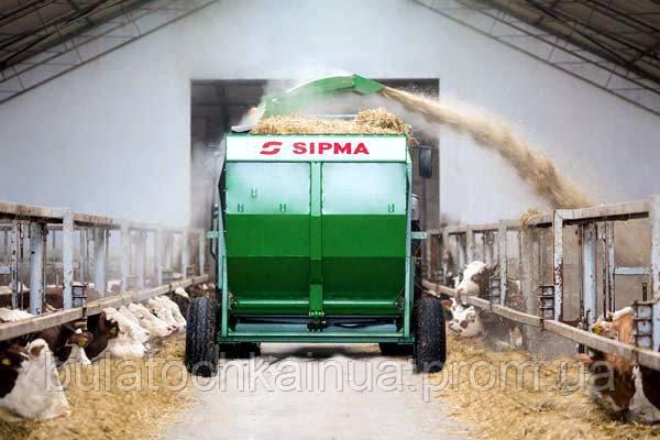 Измельчитель рулонов SIPMA KRUK 1200