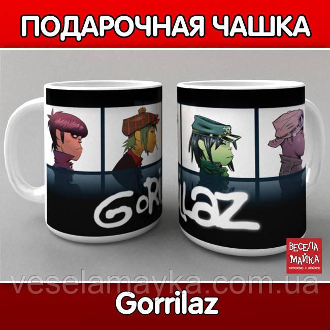 "Чашка ""Gorillaz (Гориллаз)"""