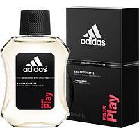 Мужские ароматы Fair Play Adidas (интенсивный, заряжающий энергией аромат)