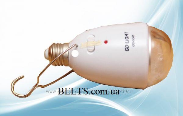 Аккумуляторная лампа GD-5005, светодиодный светильник GD-LIGHT GD-5005