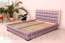 """Кровать """"Нифертити"""" двуспальная с мягким изголовьем и подъемным механизмом , фото 2"""