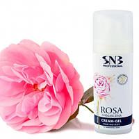 Крем-гель для рук и тела Дамасская роза SNB Professional 30 мл