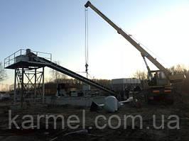 Бетоносмесительная установка БСУ-30КМ KARMEL г. Брест (Республика Белоруссия)