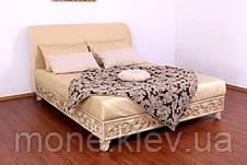 """Кровать """"Натали"""" двуспальная с мягким изголовьем, фото 3"""