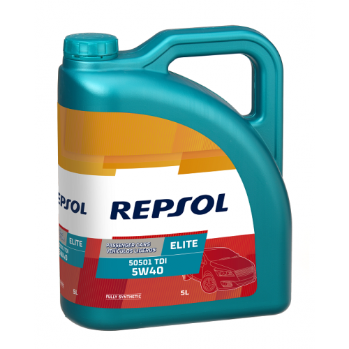 REPSOL ELITE 50501 TDI 5W-40 5L