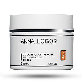 Маска цитрусовая для жирной кожи Anna LOGOR Oil Control Citrus Mask 250 ml Art.255
