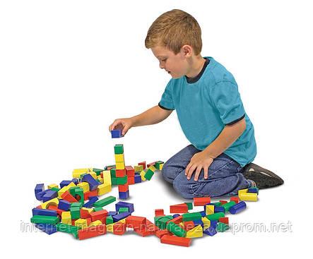 Деревянная игрушка Melissa&Doug 100 деревянных кубиков, фото 2