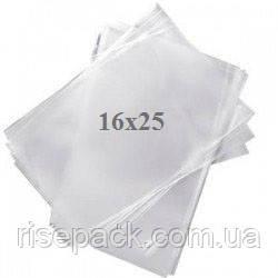 Пакеты полипропиленовые 16х25 прозрачные для упаковки и фасовки