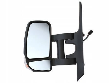 Зеркало в сборе электро длинное  L Renault Master III Opel Movano B, фото 2