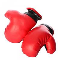 Боксерские перчатки M 2998  2шт, ПВХ, детские, в кульке, 22-29-8см
