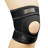 Бандаж спортивный для колена Spokey Musto (original), наколенник, фиксатор для коленного сустава открытый