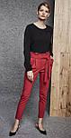 Женская блуза черного цвета с длинным рукавом. Модель 260071 Enny, коллекция осень-зима 2018-2019, фото 2