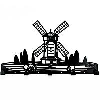 Вешалка настенная Glozis Windmill H-064 (46*26 см)