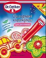 Сахарные карандаши 4 цвета (код 00276)