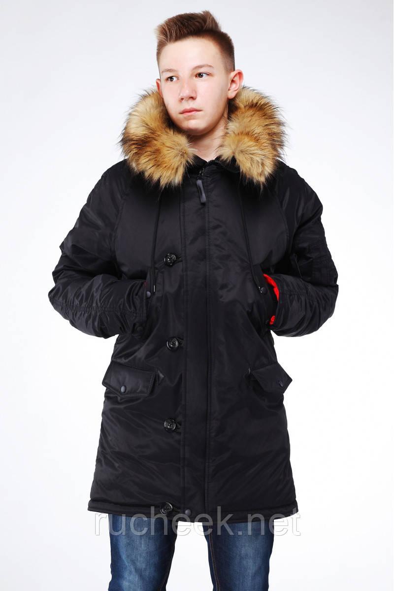 Подростковая зимняя куртка парка Хамелеон, р-р  42 - 48, Украина Nui very