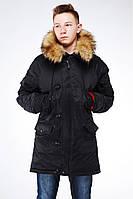 Подростковая зимняя куртка парка Хамелеон, р-р  42 - 48, Украина Nui very, фото 1