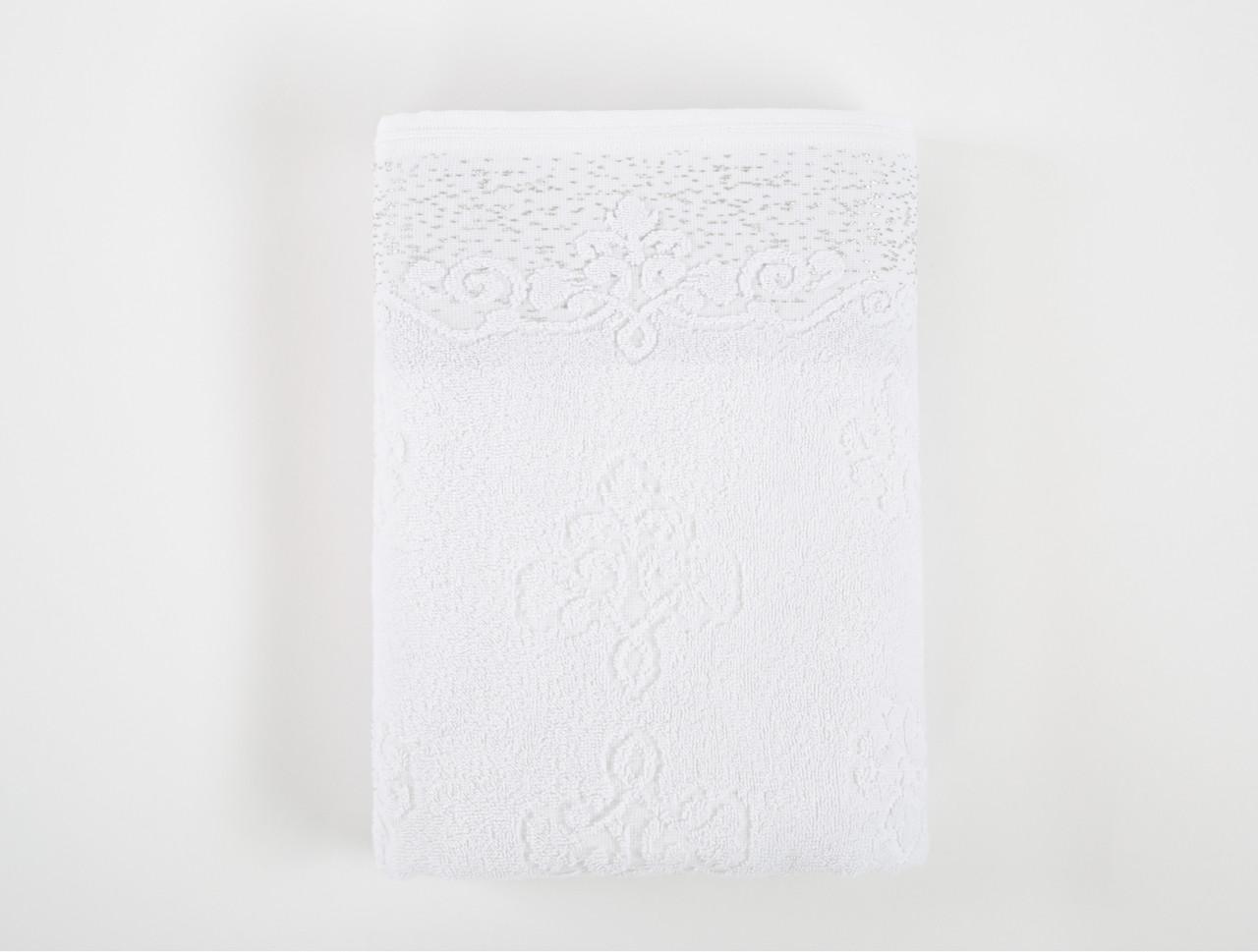 Полотенце Irya Jakarli - New Dora beyaz белый 90*150