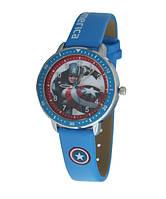 Часы детские наручные для мальчиков Капитан Америка