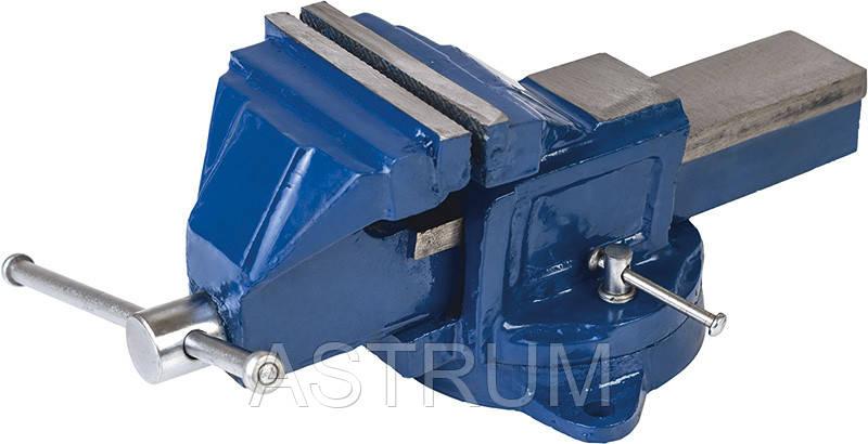 Тиски слесарные поворотные 200 мм Miol 36-500, фото 2