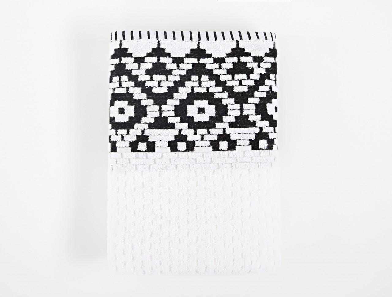 Полотенце Irya Jakarli - New Wall beyaz белый 90*150