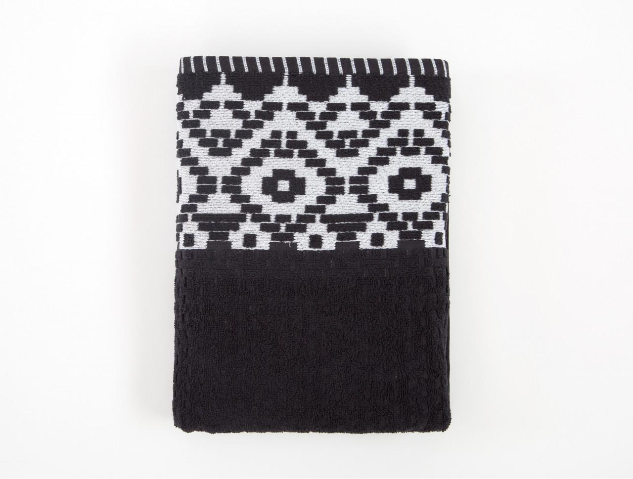Рушник Irya Jakarli - New Wall siyah чорний 90*150