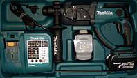 Makita BHR202RFE аккумуляторный перфоратор (патрон SDS-PLUS, реверс)
