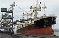 Загрузчик зерна на судно