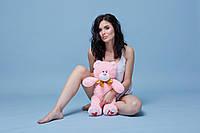 Мягкая игрушка мишка Ден (025) 55 см розовый