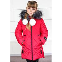 """Детская зимняя куртка на девочку """"Анжелика"""""""