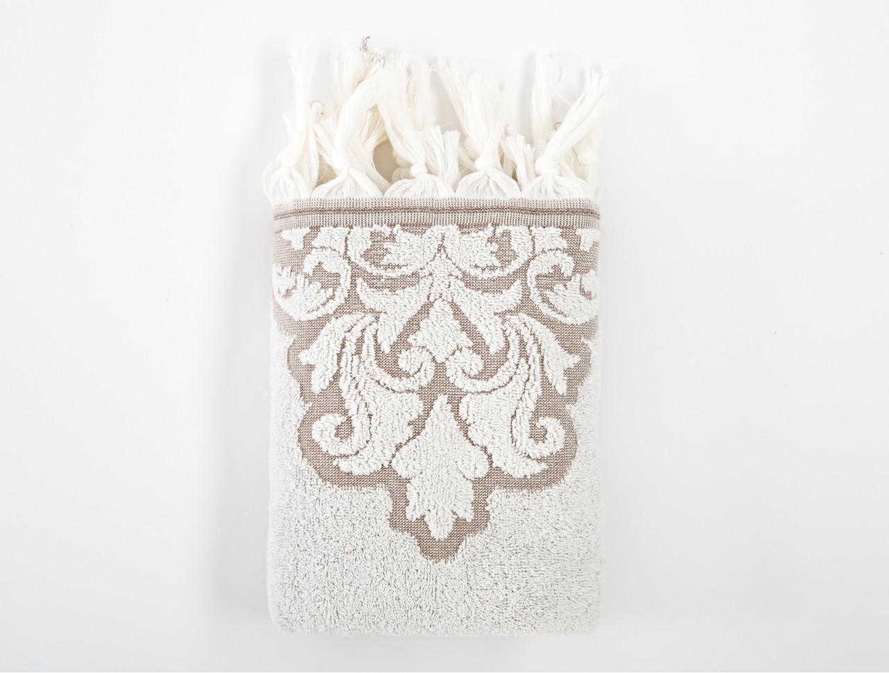 Полотенце Irya Jakarli - Vintage ekru молочный 90*150