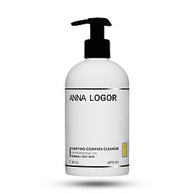 Комплексный очищающий гель Anna LOGOR Purifying Complex Cleanser 350 ml Art. 301