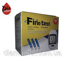 Тест-полоски Finetest Premium 1 упаковка по 50шт.
