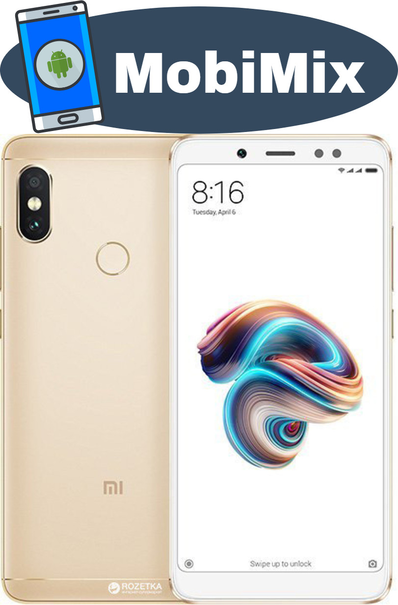 Xiaomi Redmi Note 5 3 32gb Gold Global 6