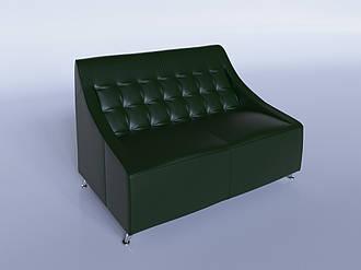 """Офісний диван """"Поліс"""" зелений"""