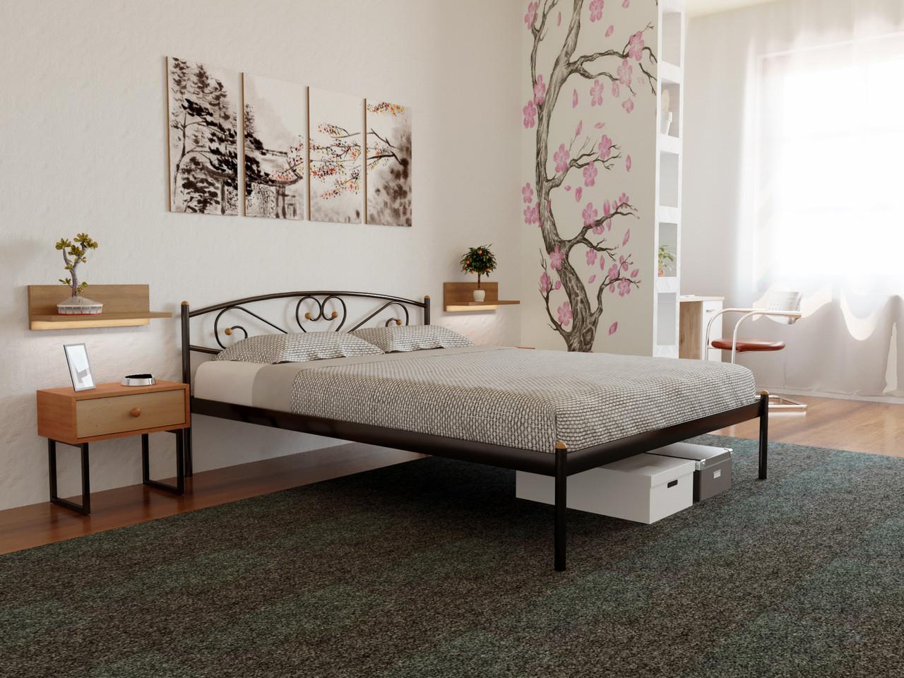 Ліжко металеве Мілана, ліжко Milana