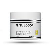 Зволожуючий  крем з колоїдним сріблом  Анна Логор / Anna Logor Silver Plus  Moisturizer 250 мл Код 323