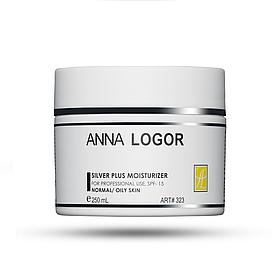 Зволожуючий крем з колоїдним сріблом Anna Logor Silver Plus Moisturizer 250 мл Код 323