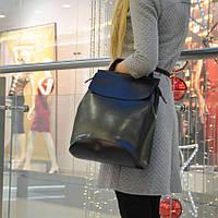Женская сумка рюкзак натуральная кожа , рюкзак трансформер