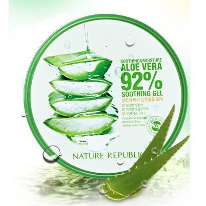Nature Republic Увлажняющий гель Алоэ Aloe Vera 92% Gel 300ml