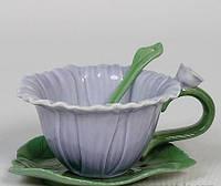 Порцеляновий чайна пара Жоржин Pavone CMS - 07/ 3, фото 1