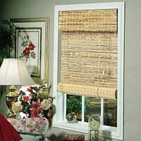 Роллеты на окна из бамбука
