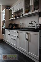 """Кухня """"Тоскана"""". Фасады массив ясень, цвет Белый, фото 1"""