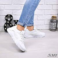 Кроссовки женские Nike Huarache белые 5381 , люкс качество, фото 1