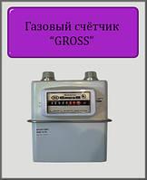 Газовый счётчик GROSS 1.6 Мембранный