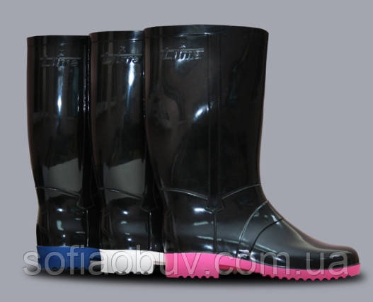 Характеристика ассортимента резиновой обуви.