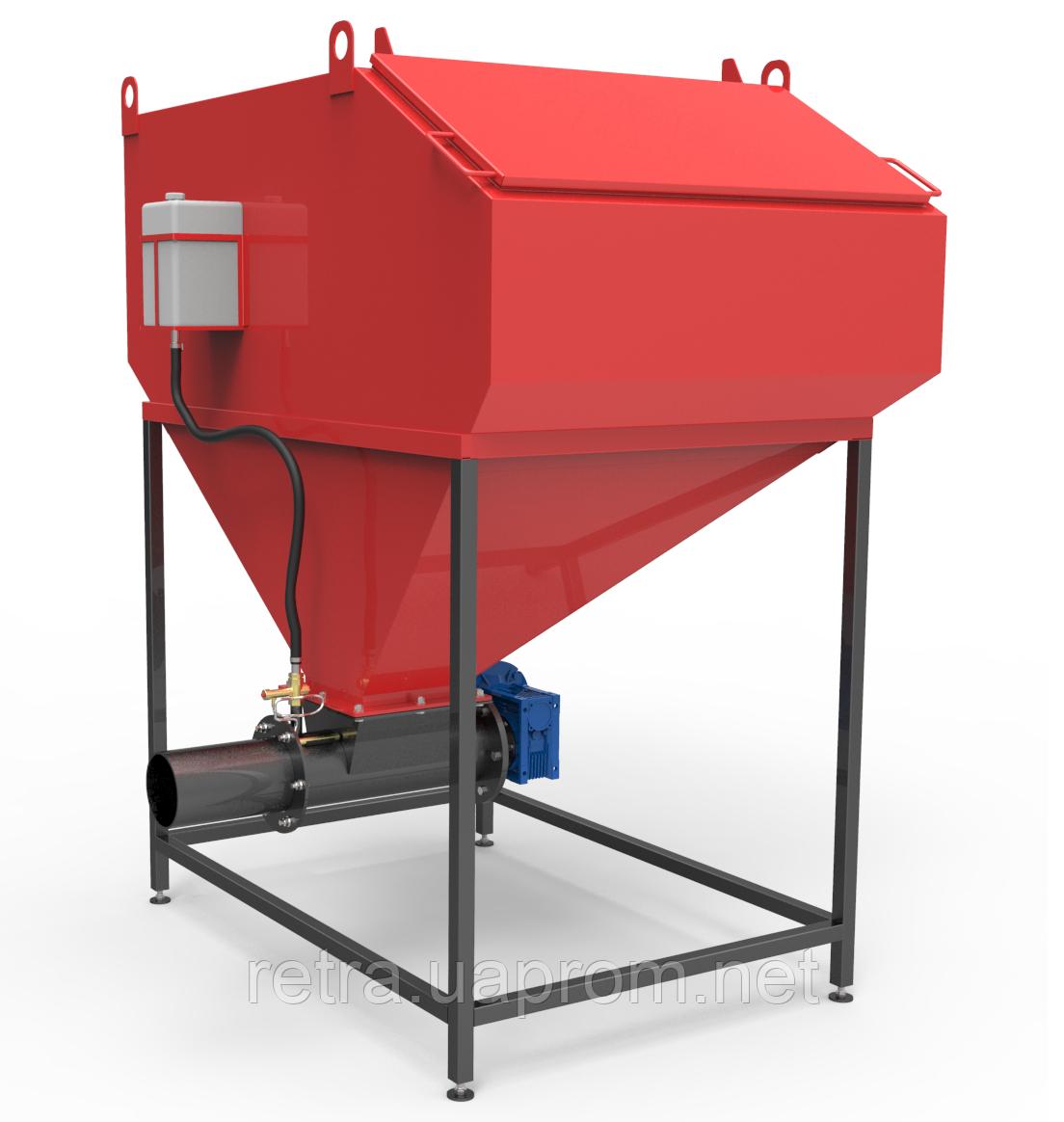 Шнековая система подачи топлива 65-80 кВт