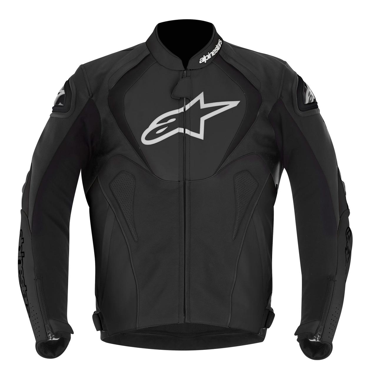 "Куртка Alpinestars JAWS кожа black ""54"" перфорированная"